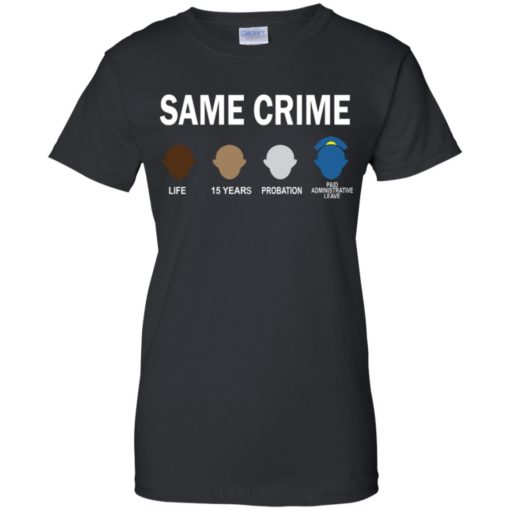 Colin Kaepernick Same Crime shirt - image 5665 510x510