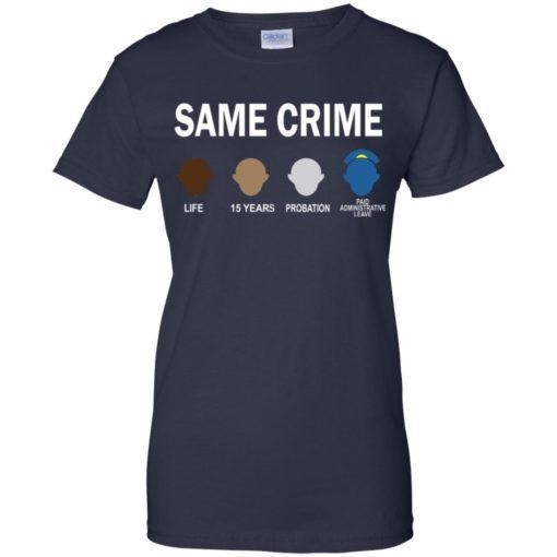 Colin Kaepernick Same Crime shirt - image 5666 510x510
