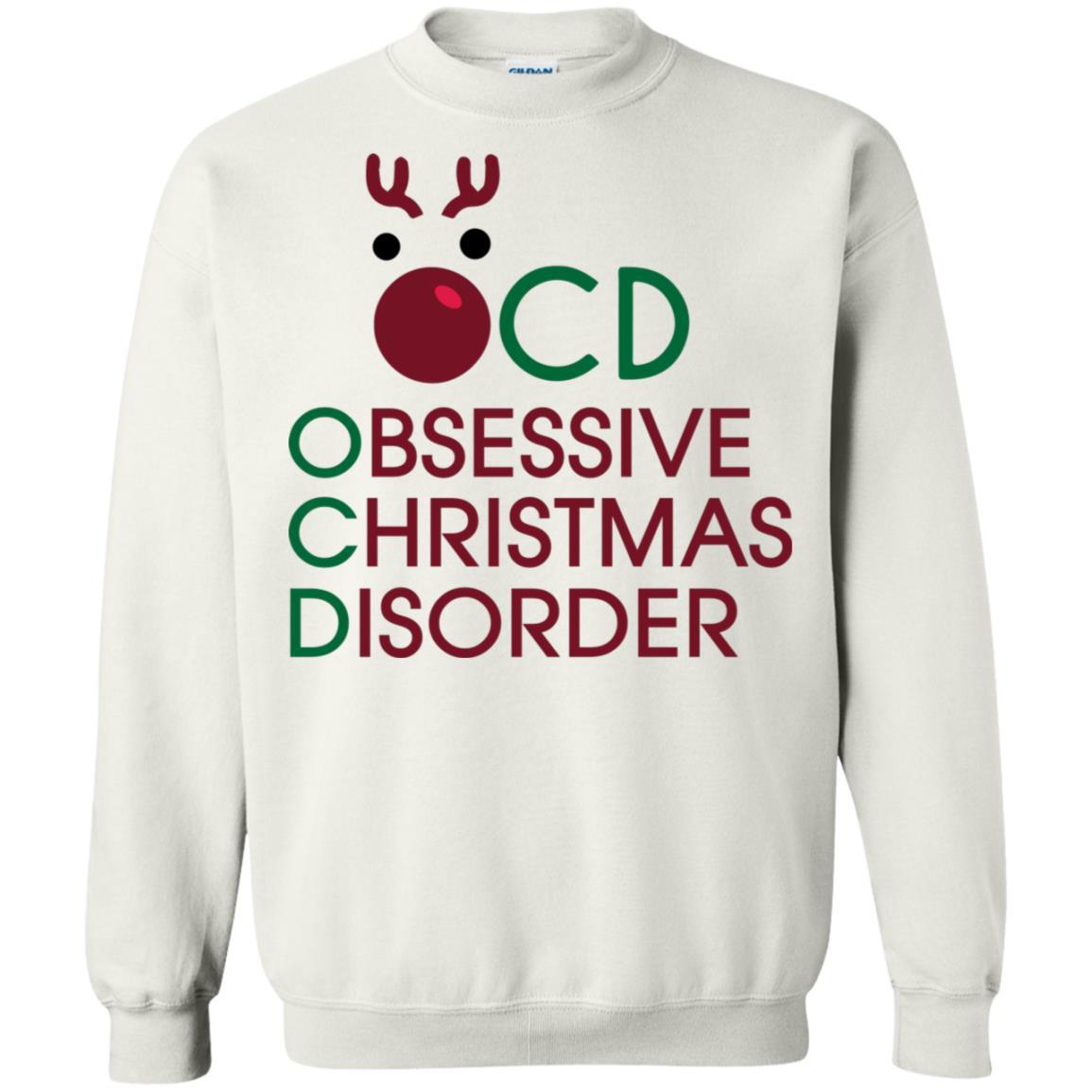 OCD Obsessive Christmas Disorder shirt, hoodie, long sleeve
