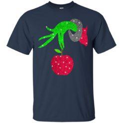 Grinch hand holding Apple shirt - image 5718 247x247