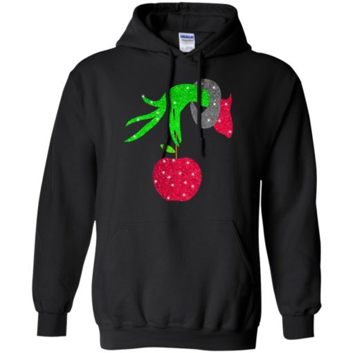 Grinch hand holding Apple shirt - image 5721 510x510