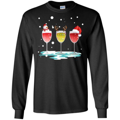 Wine christmas sweatshirt shirt - image 5767 510x510