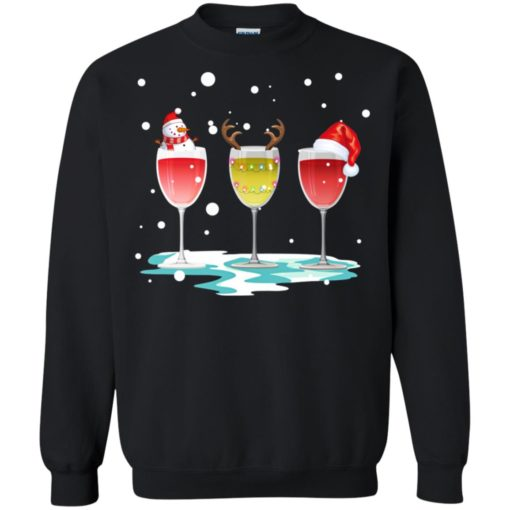 Wine christmas sweatshirt shirt - image 5769 510x510