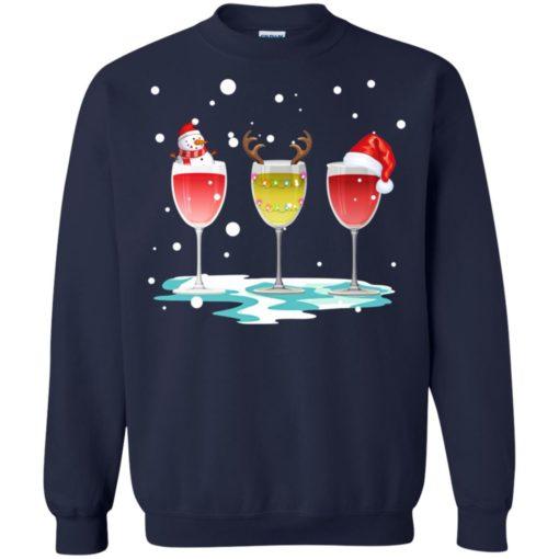 Wine christmas sweatshirt shirt - image 5770 510x510