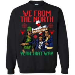 We from the north yeah that Christmas sweater shirt - image 5907 247x247