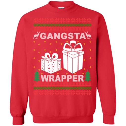 Gangsta wrapper Christmas sweatshirt shirt - image 5960 510x510