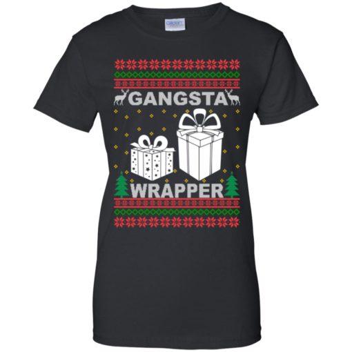Gangsta wrapper Christmas sweatshirt shirt - image 5963 510x510