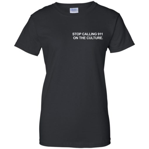 Chris Paul Stop Calling 911 On The Culture shirt - image 5971 510x510
