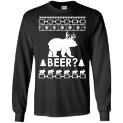 Bear Deer Christmas BEER Sweatshirt shirt - image 101 247x247