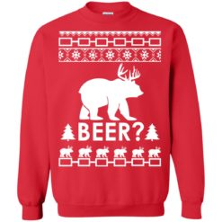 Bear Deer Christmas BEER Sweatshirt shirt - image 106 247x247
