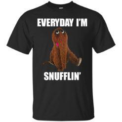 Snuffleupagus Every day I'm Snufflin' shirt - image 1129 247x247