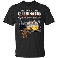 Bigfoot welcome to camp quitcherbitchin shirt - image 1147 247x247