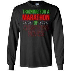 Training for a marathon of christmas movie sweatshirt shirt - image 1206 247x247