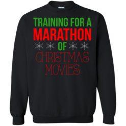 Training for a marathon of christmas movie sweatshirt shirt - image 1209 247x247