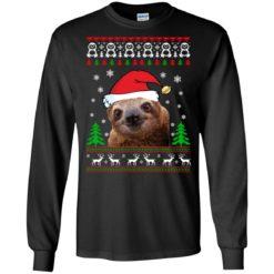 Sloth Christmas ugly sweatshirt shirt - image 1216 247x247