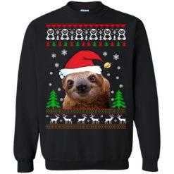 Sloth Christmas ugly sweatshirt shirt - image 1219 247x247