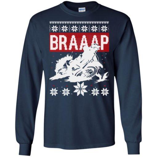 Motocross Braaap Christmas sweatshirt shirt - image 1337 510x510