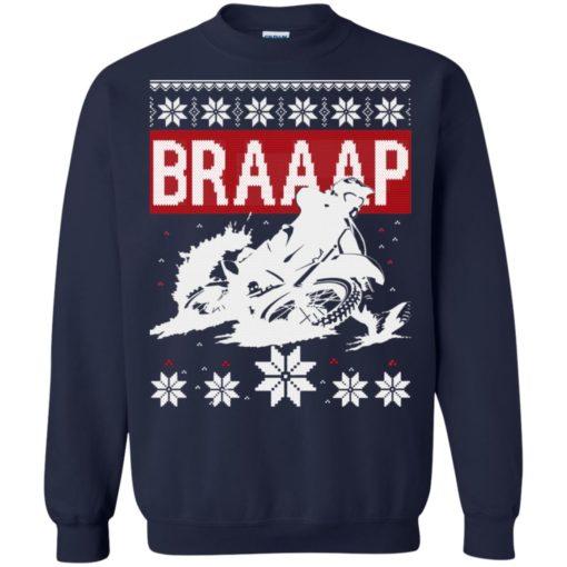 Motocross Braaap Christmas sweatshirt shirt - image 1340 510x510