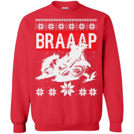 Motocross Braaap Christmas sweatshirt shirt - image 1341 510x510