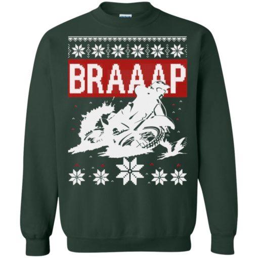 Motocross Braaap Christmas sweatshirt shirt - image 1342 510x510