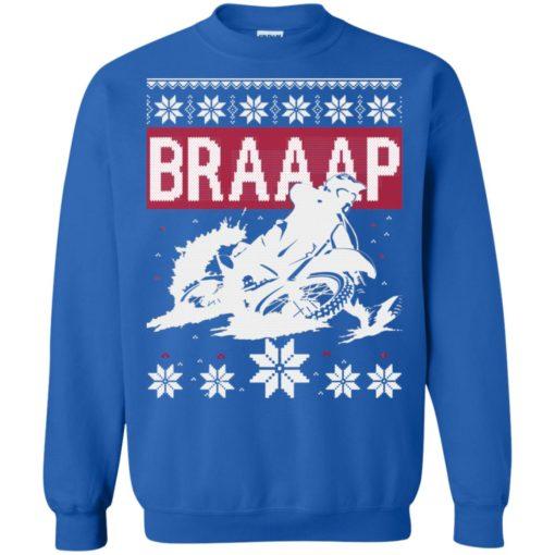 Motocross Braaap Christmas sweatshirt shirt - image 1343 510x510