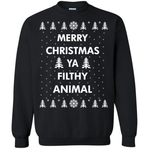 Merry Christmas Ya filthy animal sweatshirt shirt - image 1349 510x510