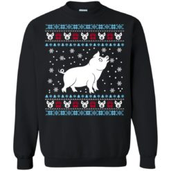 Pig Christmas sweater shirt - image 14 247x247