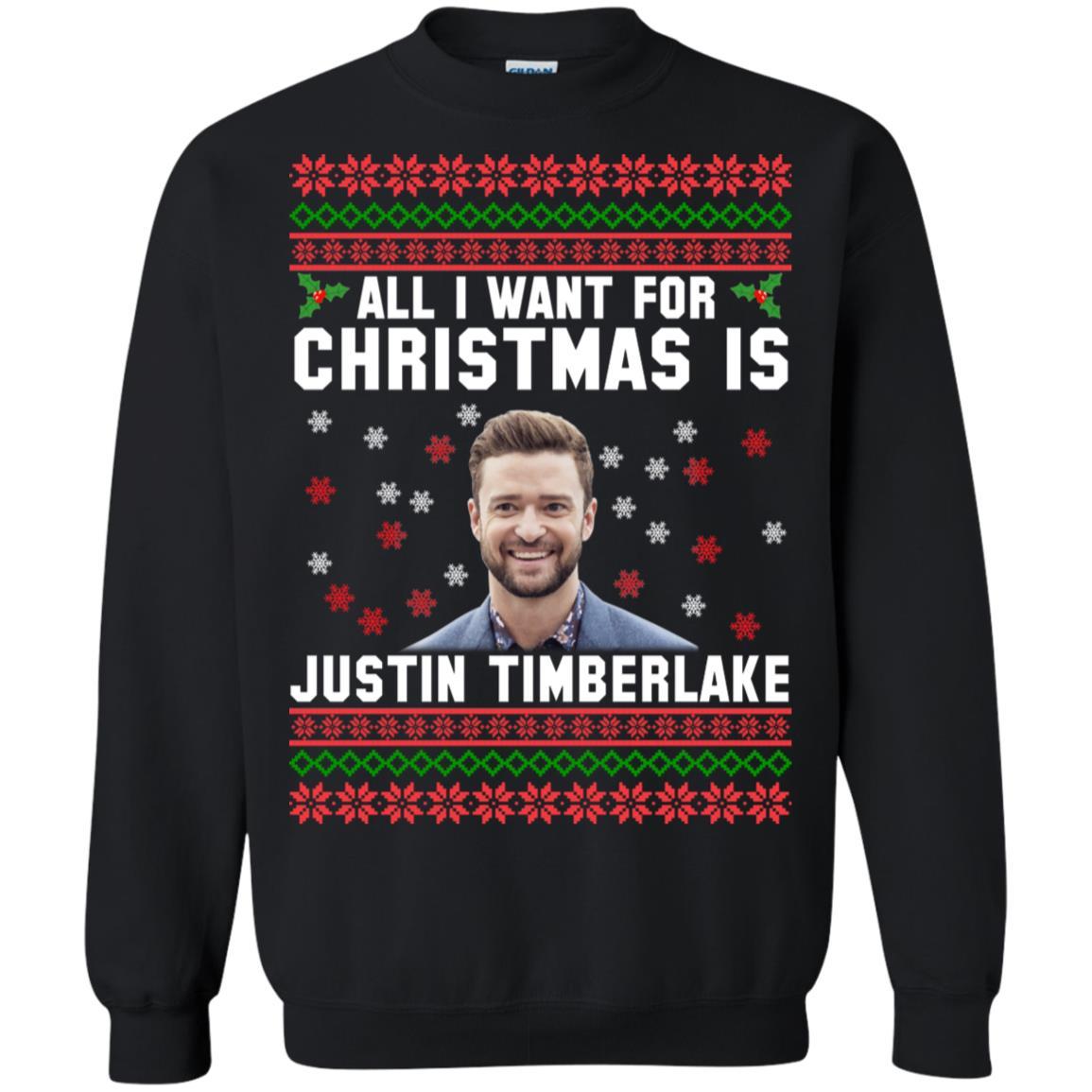 All I want for Christmas is Justin Timberlake sweatshirt, hoodie