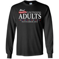 Sleet functioning adults november 2018 shirt - image 1555 247x247
