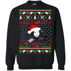 All I want for Christmas is Snow sweatshirt shirt - image 1847 247x247
