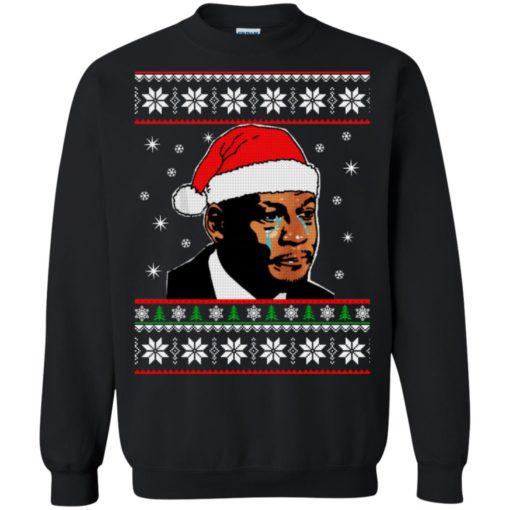 Crying Jordan Christmas sweater shirt - image 230 510x510