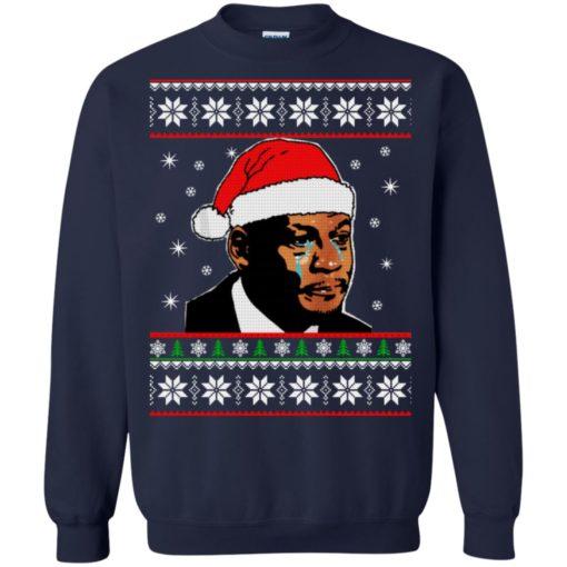 Crying Jordan Christmas sweater shirt - image 231 510x510