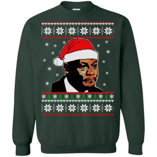 Crying Jordan Christmas sweater shirt - image 233 510x510
