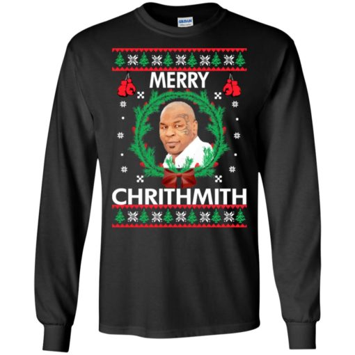 Mike Tyson Merry Chrithmith sweatshirt shirt - image 237 510x510