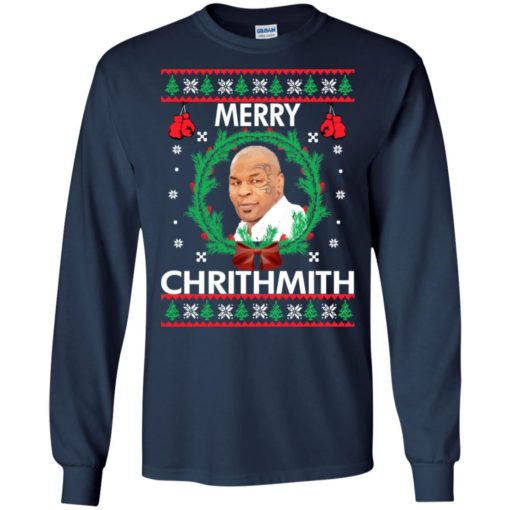 Mike Tyson Merry Chrithmith sweatshirt shirt - image 238 510x510