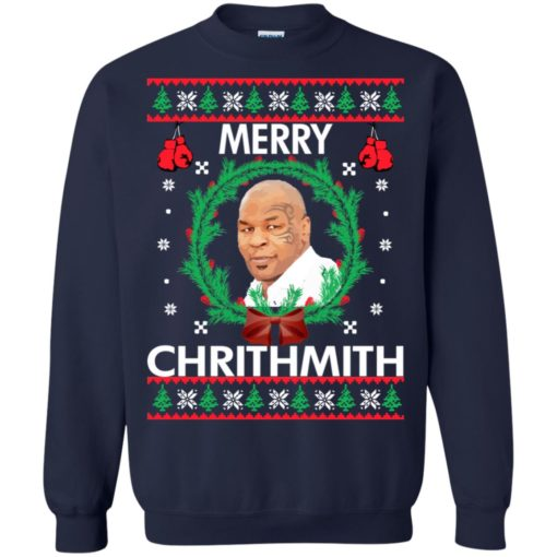 Mike Tyson Merry Chrithmith sweatshirt shirt - image 241 510x510