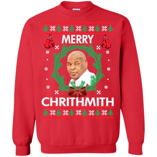 Mike Tyson Merry Chrithmith sweatshirt shirt - image 242 510x510