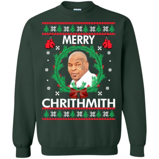 Mike Tyson Merry Chrithmith sweatshirt shirt - image 243 510x510