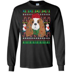 Cavalier King Charles Spaniel Christmas sweatshirt shirt - image 2537 247x247
