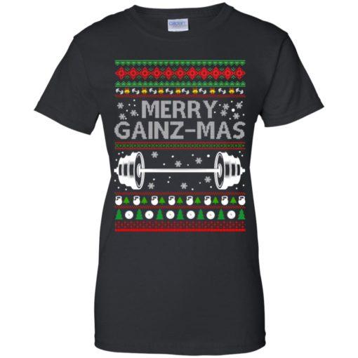 Merry gainzmas Christmas sweatshirt shirt - image 2555 510x510