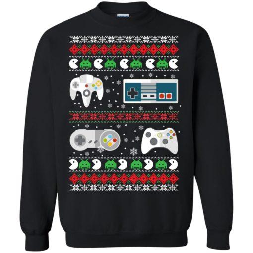 Gamer Christmas Sweater shirt - image 2560 510x510