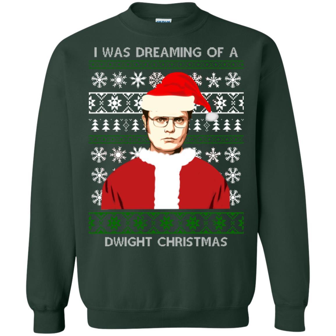 Dwight Christmas.I M Dreaming Of A Dwight Christmas Sweatshirt