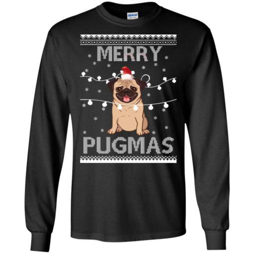 Merry Pugmas Christmas sweatshirt shirt - image 3107 510x510