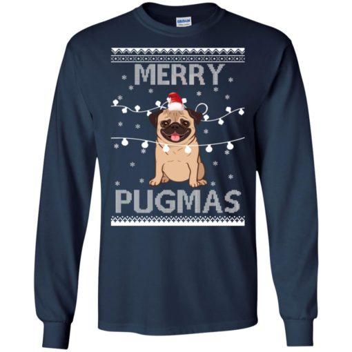 Merry Pugmas Christmas sweatshirt shirt - image 3108 510x510