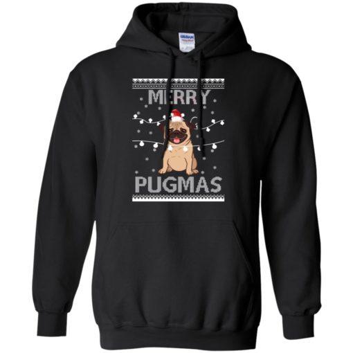 Merry Pugmas Christmas sweatshirt shirt - image 3109 510x510