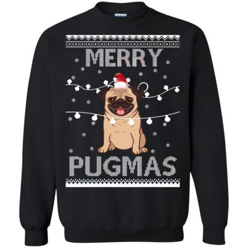 Merry Pugmas Christmas sweatshirt shirt - image 3110 510x510