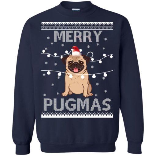 Merry Pugmas Christmas sweatshirt shirt - image 3111 510x510