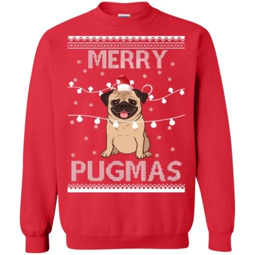 Merry Pugmas Christmas sweatshirt shirt - image 3112 510x510