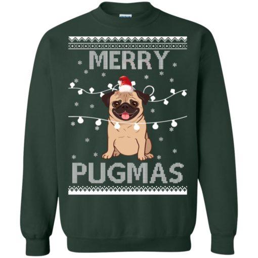 Merry Pugmas Christmas sweatshirt shirt - image 3113 510x510