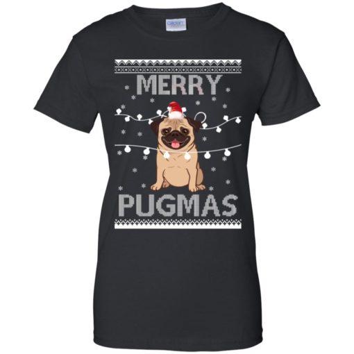 Merry Pugmas Christmas sweatshirt shirt - image 3115 510x510